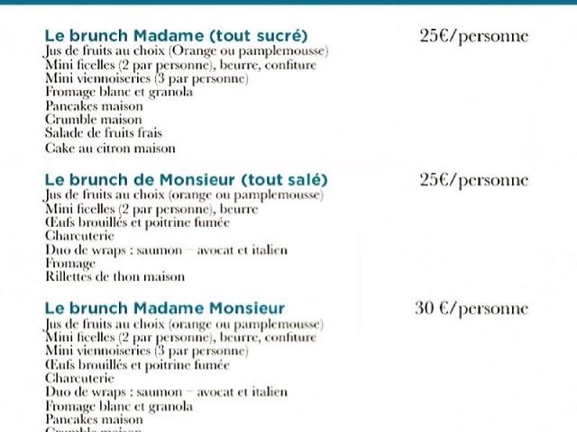 Restaurant Madame Monsieur